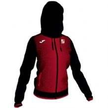 Mitchelstown Tennis Club Joma Supernova Hooded Jacket Woman Black-Red Youth 2019